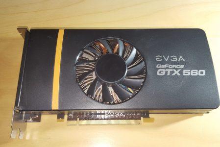 EVGA GeForce GTX 560 Superclocked